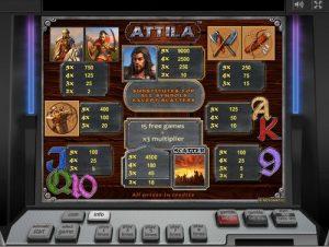 Atilla игровой автомат