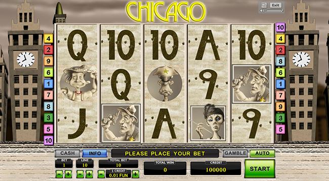 Chicago играть бесплатно