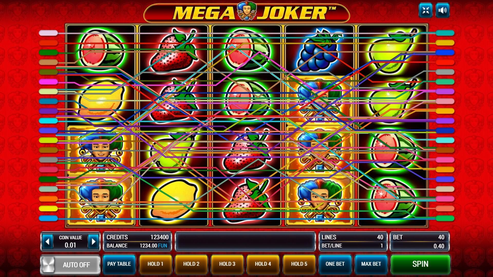 слот Mega Joker играть бесплатно
