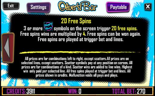 слот Olivers bar бесплатные вращения