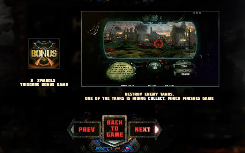 Battle Tanks игровой автомат