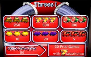игровой автомат Three