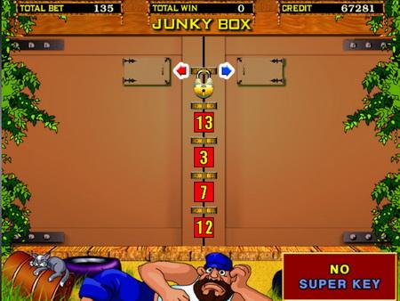 слот Junky Box играть бесплатно