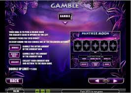 слот Panter Moon играть бесплатно