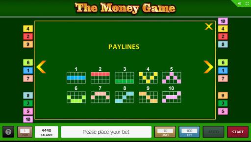 слот The Money Game играть бесплатно