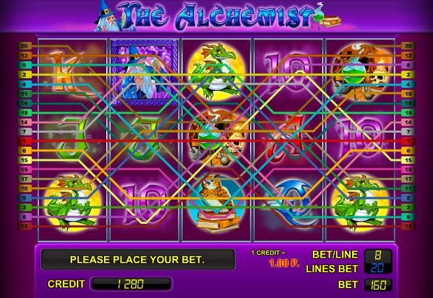 слот the alchemist играть бесплатно
